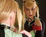 Vanessa als blonde Krankenschwester
